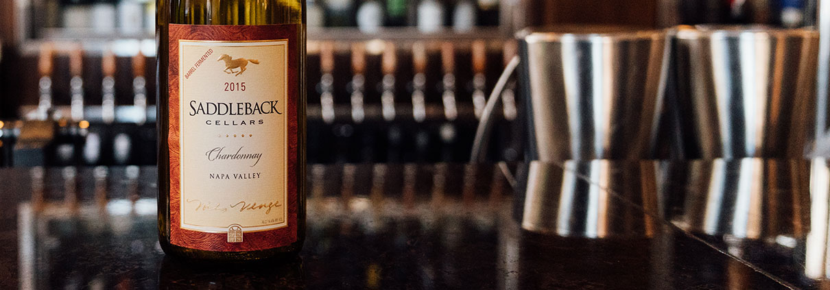 Wine of the Month: Saddleback Cellars Chardonnay